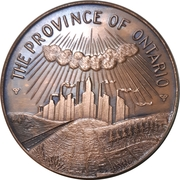 Medal - The Province of Ontario – obverse