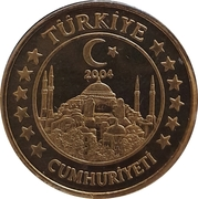 10 Cent (Turkey Euro Fantasy Token) – obverse