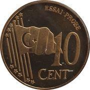 10 Cent (Turkey Euro Fantasy Token) – reverse
