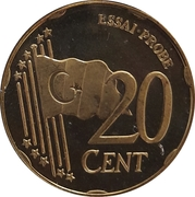 20 Cent (Turkey Euro Fantasy Token) – reverse