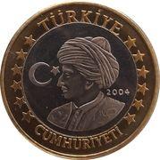 1 Euro (Turkey Euro Fantasy Token) – obverse