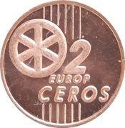 2 Europ Ceros (Slovakia Euro Fantasy Token) – reverse