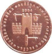 5 Europ Ceros (Slovakia Euro Fantasy Token) – obverse