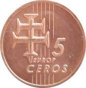 5 Europ Ceros (Slovakia Euro Fantasy Token) – reverse