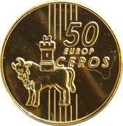 50 Europ Ceros (Slovakia Euro Fantasy Token) – reverse