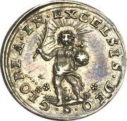 Religious medalet Basel – reverse