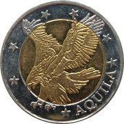 2 Euro (Aquila; Euro Fantasy Token) – obverse