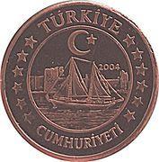 2 Cent (Turkey Euro Fantasy Token) – obverse
