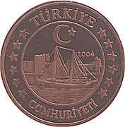 5 Cent (Turkey Euro Fantasy Token) – obverse