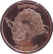 1 Cent (Netherlands Indies Euro Fantasy Token) – obverse
