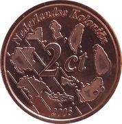 2 Cent (Netherlands Indies Euro Fantasy Token) – reverse