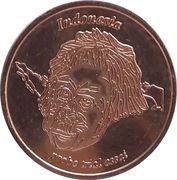 5 Cent (Netherlands Indies Euro Fantasy Token) – obverse