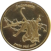 10 Cent (Netherlands Indies Euro Fantasy Token) – obverse