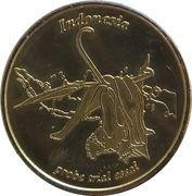 20 Cent (Netherlands Indies Euro Fantasy Token) – obverse