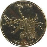 50 Cent (Netherlands Indies Euro Fantasy Token) – obverse