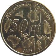 50 Cent (Netherlands Indies Euro Fantasy Token) – reverse
