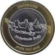 1 Euro (Netherlands Indies Euro Fantasy Token) – obverse