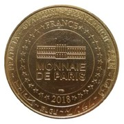 Monnaie de Paris Tourist Token - Grand Site de France (Pointe du Raz en Cap Sizun) – reverse