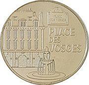 Monnaie de Paris Tourist Token - Place des Vosges – obverse