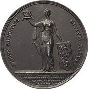 Medal - Frederik VI (Coronation of Royal Couple) – reverse