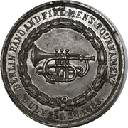 Medal - Berlin Band and Firemen's Tournament – obverse