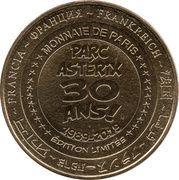 Monnaie de Paris Tourist Token - Parc Astérix Paris (Astérix - 30 ans) – reverse