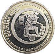 1 oz Silver (Cultura Maya) – obverse
