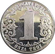 1 oz Silver (Cultura Maya) – reverse