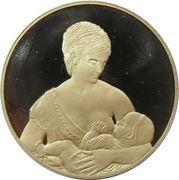 Medal - Born in Saint-Petersburg (for girls) – obverse