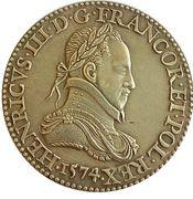 Reproduction Medal - Henri III 1574 (Félicitas) – obverse