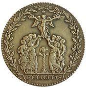 Reproduction Medal - Henri III 1574 (Félicitas) – reverse
