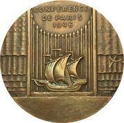 Medal - 1946 Paris conference – obverse
