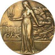 Medal - 1946 Paris conference – reverse