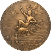 Medal - Start of cruise line between Portugal and Brazil – obverse
