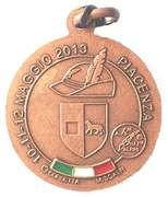 Medal - 86° Adunata Nazionale Alpini – reverse