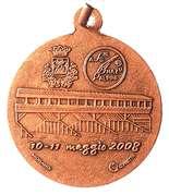 Medal - 81° Adunata Nazionale Alpini – reverse