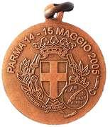 Medal - 78° Adunata Nazionale Alpini – reverse
