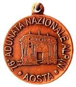 Medal - 76° Adunata Nazionale Alpini – obverse