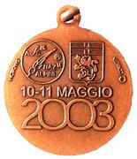 Medal - 76° Adunata Nazionale Alpini – reverse