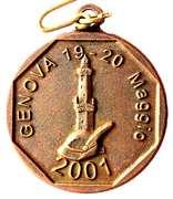 Medal - 74° Adunata Nazionale Alpini – obverse