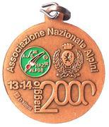 Medal - 73° Adunata Nazionale Alpini – reverse