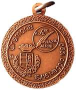 Medal - 72° Adunata Nazionale Alpini – reverse
