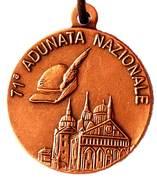 Medal - 71° Adunata Nazionale Alpini – obverse