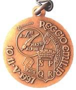 Medal - 70° Adunata Nazionale Alpini – reverse