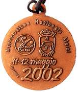 Medal - 75° Adunata Nazionale Alpini – reverse