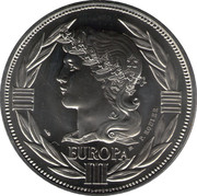 ECU (Europa; Accession of Spain and Portugal) – obverse