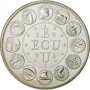 ECU (Europa; 12 countries) – reverse