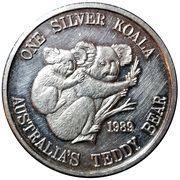1 Silver Koala – obverse