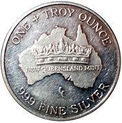 1 Silver Koala – reverse