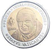 10 Euro (Vatican City Euro Fantasy Token) – obverse